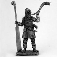 Викинг с рулевым веслом. 9-11 век