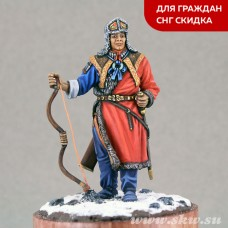 Шаньюй Маодунь (Моде) Правитель Гуннов. 209 г. до н.э.