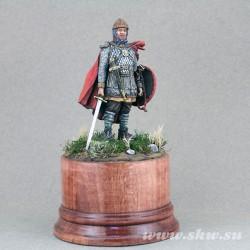 Конный воин новгородского тысячного полка.14 век
