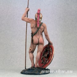 Греческий воин. Конец 5 века до н.э. 75 мм