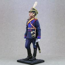 Капитан Кавалерийского почетного эскорта в летней церемониальной форме образца 2005 г. 2014 г. 75 мм