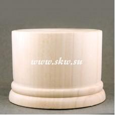 Подставка деревянная. Высота 55 мм, верхний диаметр 70 мм.