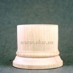 Подставка деревянная. Высота 40 мм, верхний диаметр 45 мм.