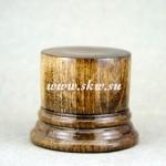 Подставка деревянная. Высота 40 мм, верхний диаметр 40 мм.
