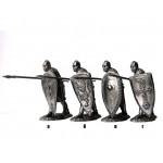 Русский тяжеловооруженный пехотинец, 13 век, вариант Г