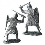 Новгородский знатный воин, 13 век