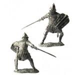 Русский спешанный всадник, 14 век