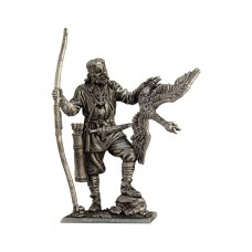 Викинг-лучник с гусем, 9-10 век
