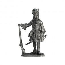 Обер-офицер гренадерских полков армейской пехоты, 1710-е гг. Россия