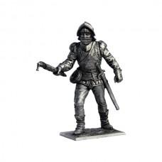 Артиллерист с пальником. Зап. Европа, 15 век