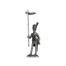 2-й орлоносец линейного полка. Франция,1809-12 гг.